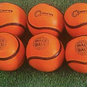 Half Dozen Orange Wall Balls